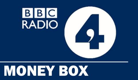 Interview with BBC Radio 4 'Money Box'